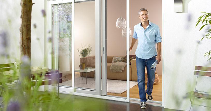 insektenschutz f r t ren schiebeanlage kessler. Black Bedroom Furniture Sets. Home Design Ideas